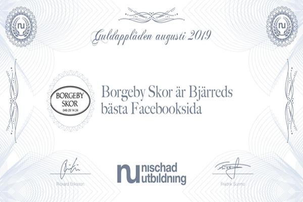 Borgeby Skor är Bjärreds Bästa Facebooksida