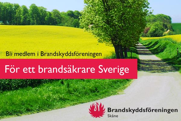 Zcreenz Hjälper Brandskyddsföreningen Skåne Med Facebook & Instagram