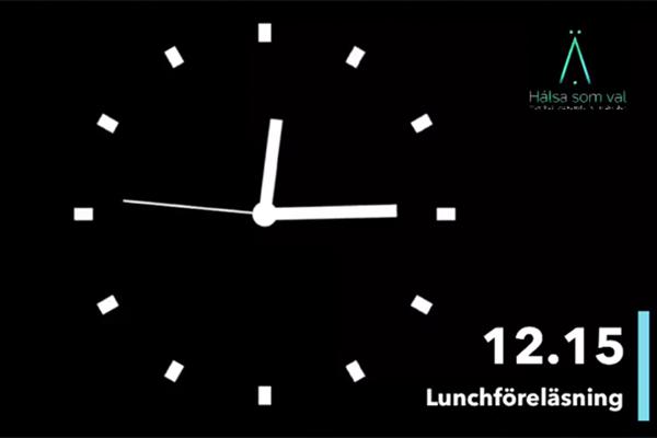 Zcreenz Livesänder Hälsa Som Vals Lunchföreläsning